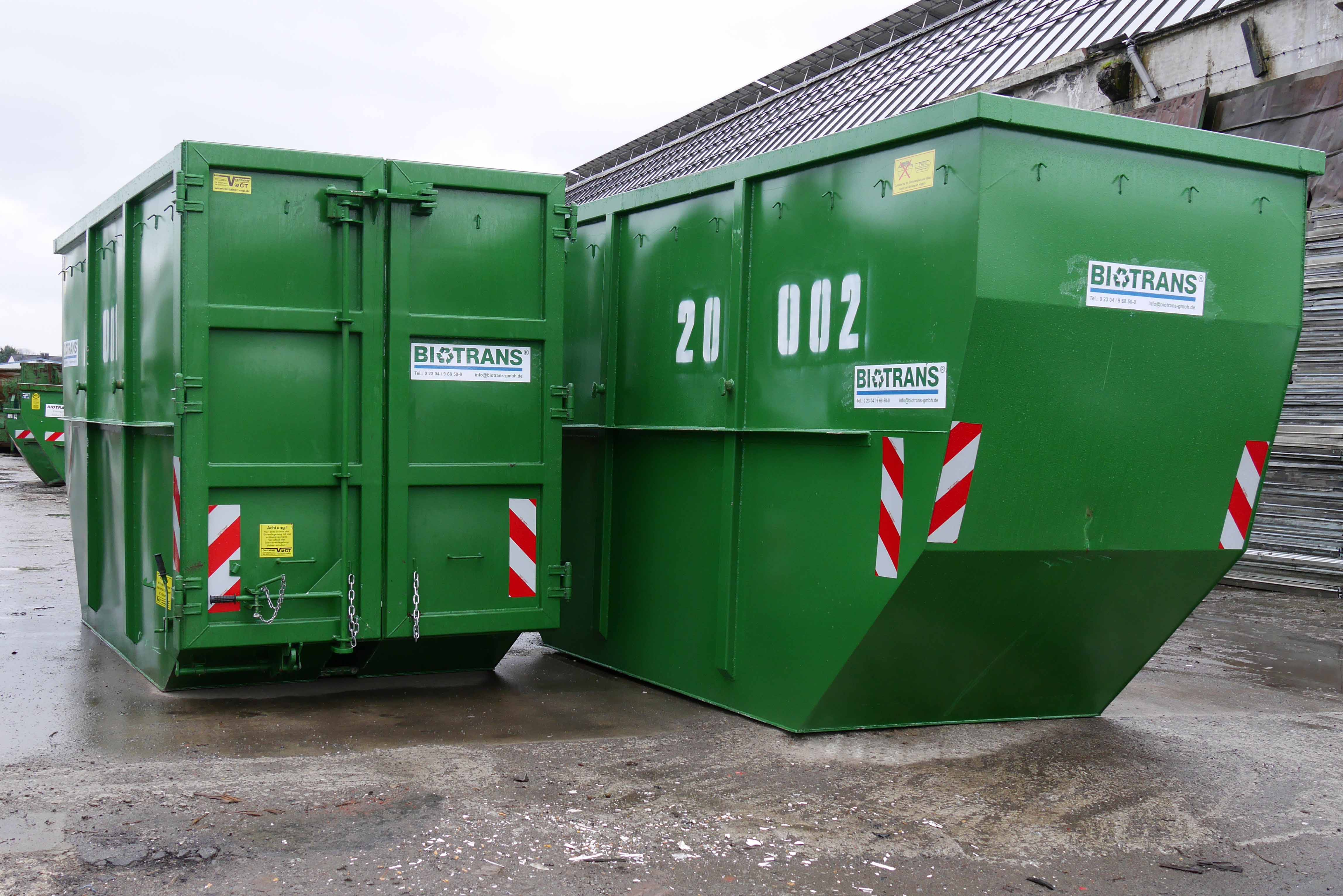 Absetzcontainer 20 m³